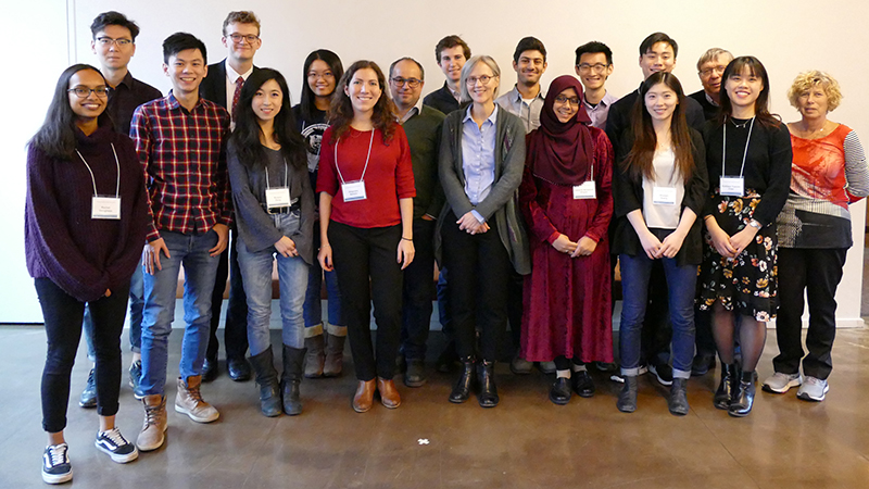 2017-18 Undergraduate award winners, donors and guests