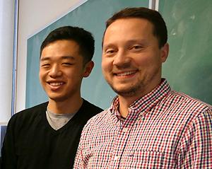 Paul Han, Professor Martin Burda