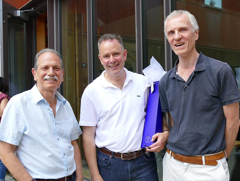 L-R: Professors Arthur Hosios, Dwayne Benjamin and Martin Osborne